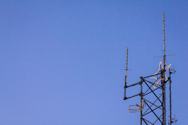 FM transmitter tower