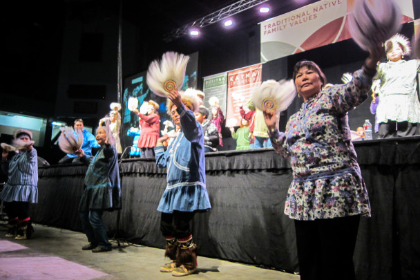 Dance performance at AFN 2013