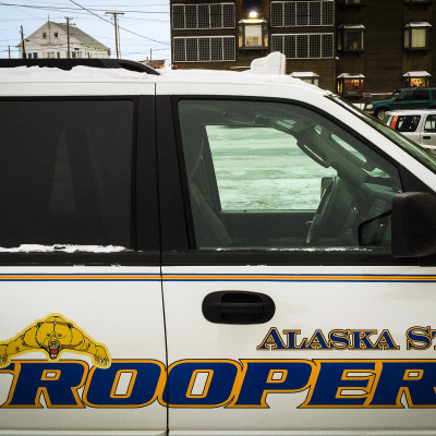 An Alaska State Trooper cruiser. Photo: Matthew F. Smith, KNOM file.