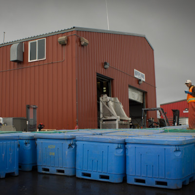 Norton Sound Seafood Products in Unalakleet