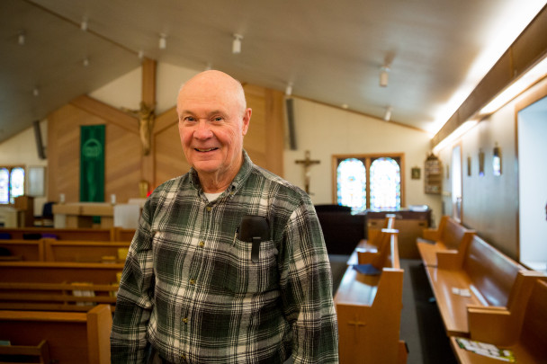 July 2015: Father Vince Burns
