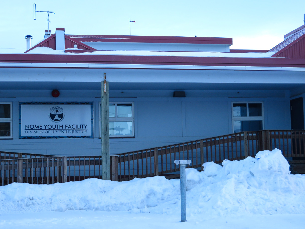 The Nome Youth Facility. Photo: Laura Kraegel, KNOM.