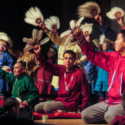 Toksook Bay Dancers, Cama-i 2016