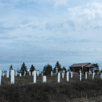The Nome Cemetery. Photo: Laura Kraegel, KNOM.