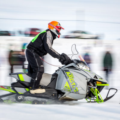 Nome-Golovin competitor at the race start