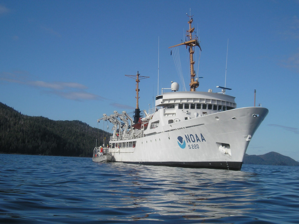 Aboard NOAA Ship, Challenges and Adventure While Mapping Sea Floor on lake floor mapping, deep sea mapping, ocean mapping activity,